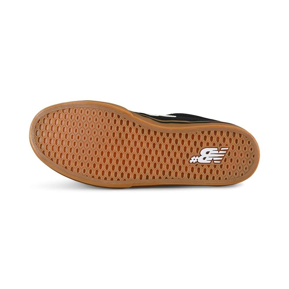 New Balance Numeric 255 Skate Shoes - Black / Gum / White