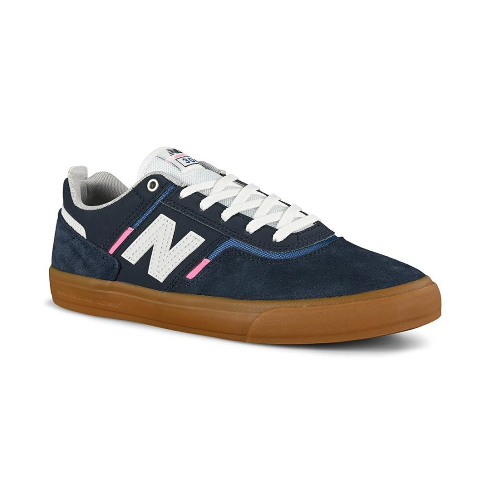 New Balance Numeric 306 Jamie Foy Skate Shoes - Navy / Pink