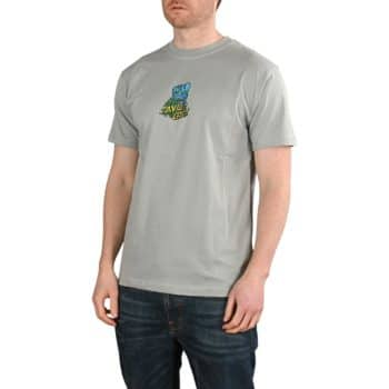 Santa Cruz Bigfoot Screaming Hand S/S T-Shirt - Quarry Grey