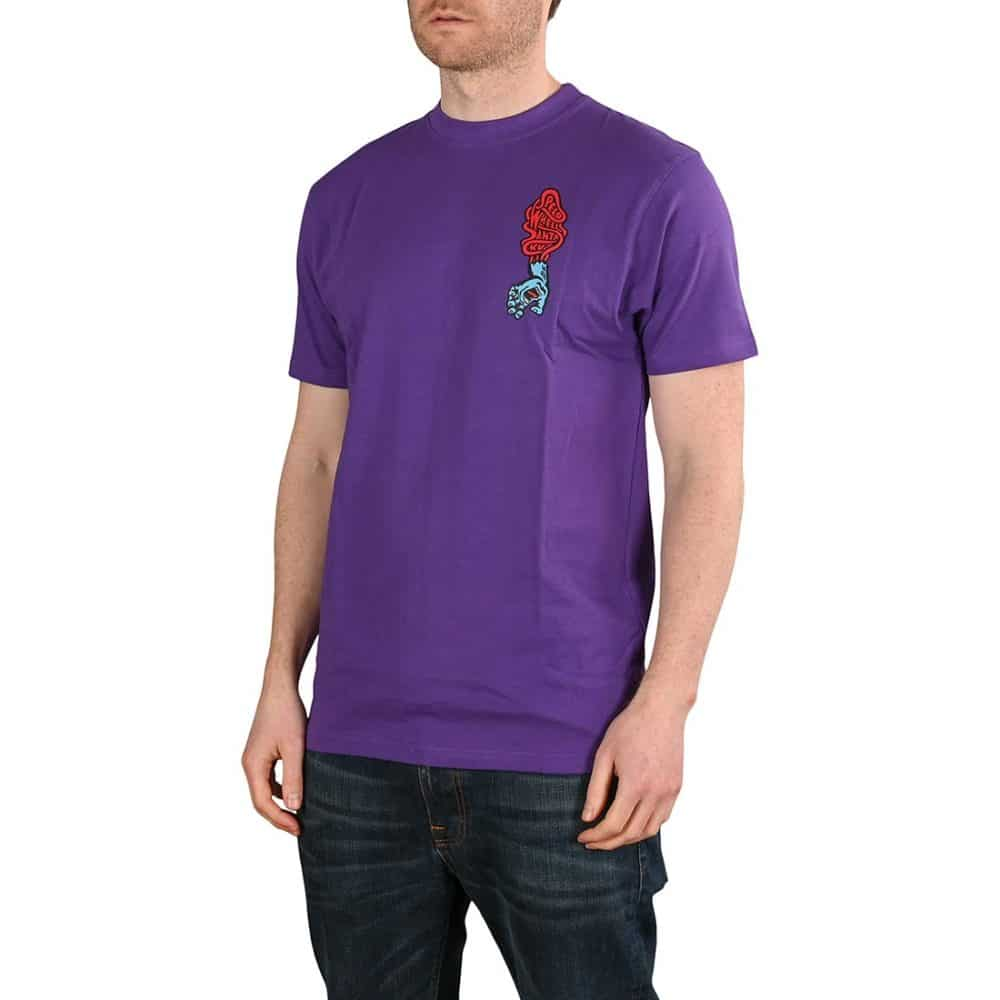 Santa Cruz Screaming Hand Scream S/S T-Shirt - Purple