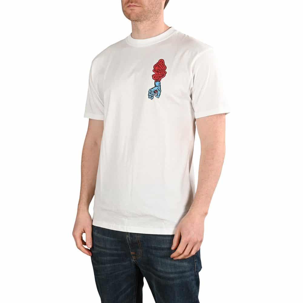 Santa Cruz Screaming Hand Scream S/S T-Shirt - White