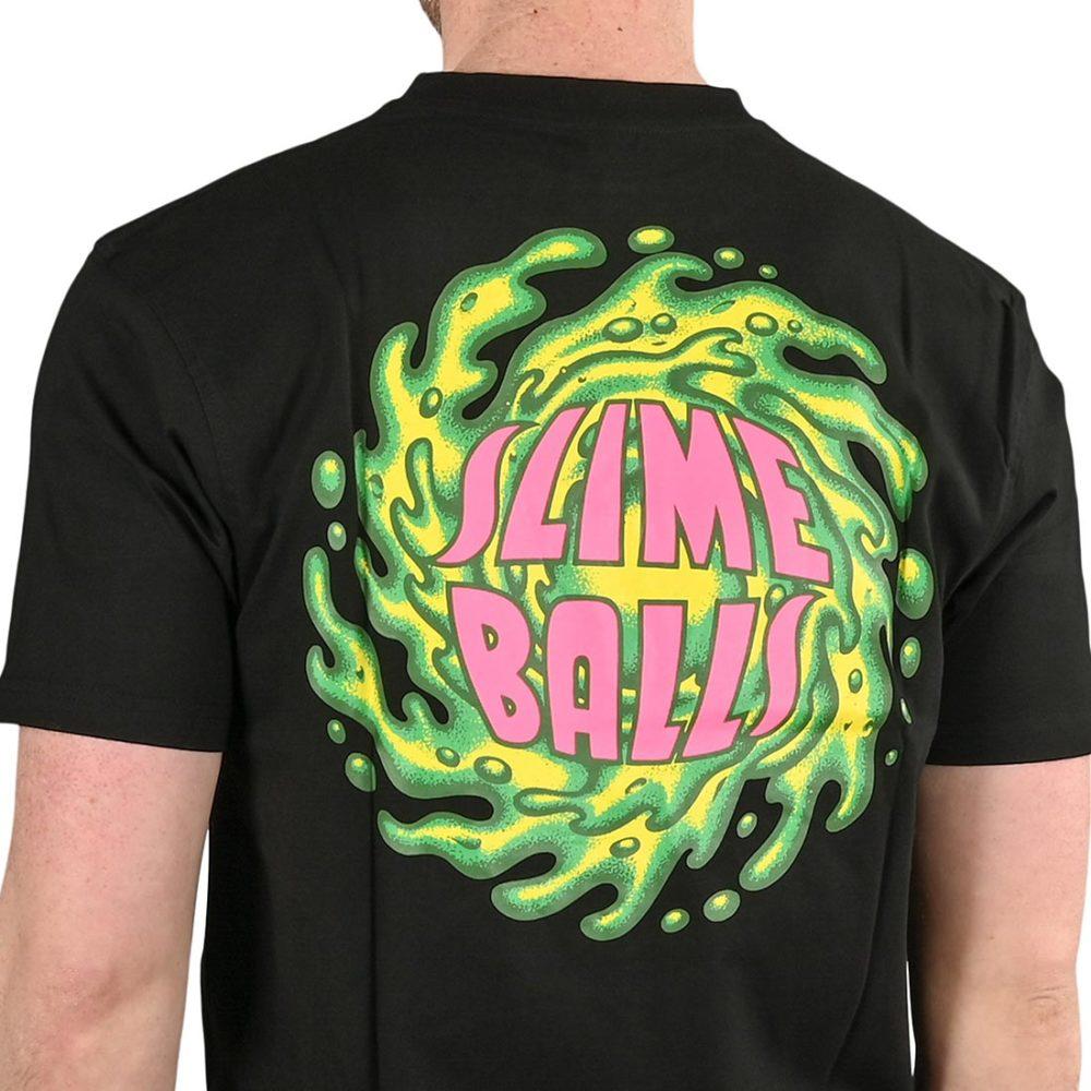 Santa Cruz Slimeballs S/S T-Shirt - Black