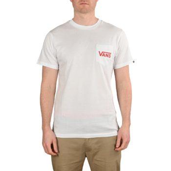 Vans OTW Classic S/S T-Shirt - White / High Risk Red