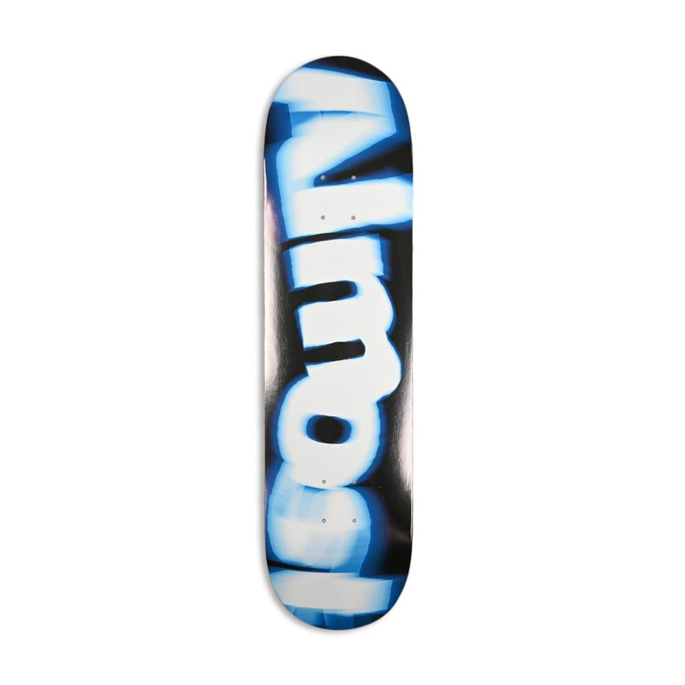 "Almost Spin Blur Logo HYB 8"" Skateboard Deck - Blue"