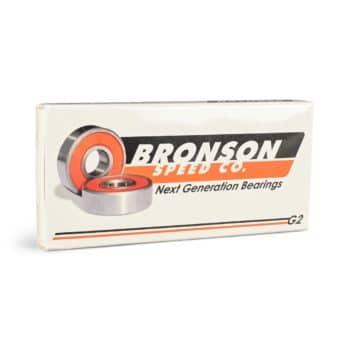 Bronson Speed Co G2 Skateboard Bearings (8 Pack)
