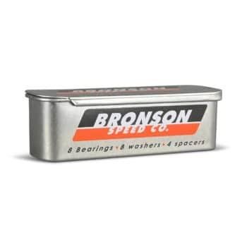 Bronson Speed Co G3 Skateboard Bearings (8 Pack)