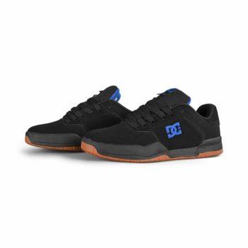 DC Central Skate Shoes - Black / Black / Blue