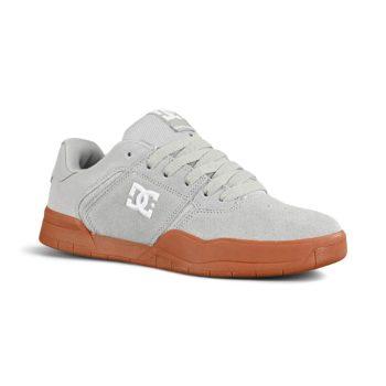 DC Central Skate Shoes - Grey / Gum