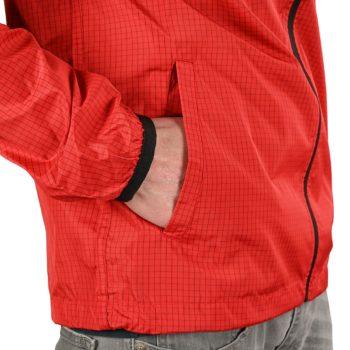 DC Dagup Ripstop Windbreaker Jacket - Racing Red
