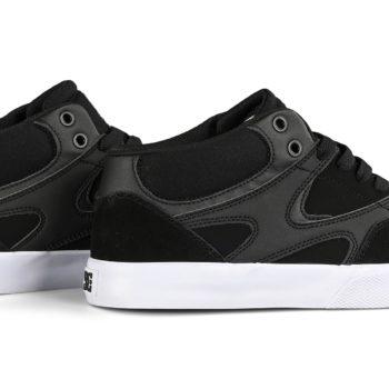 DC Kalis Vulc Mid Skate Shoes - Black / Black / White