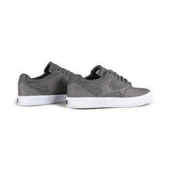 DC Kalis Vulc Skate Shoes - Grey / Gum