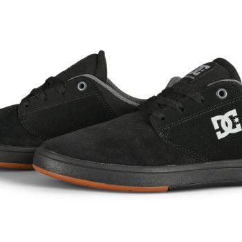 DC Plaza TC Skate Shoes - Black / Black / Gum
