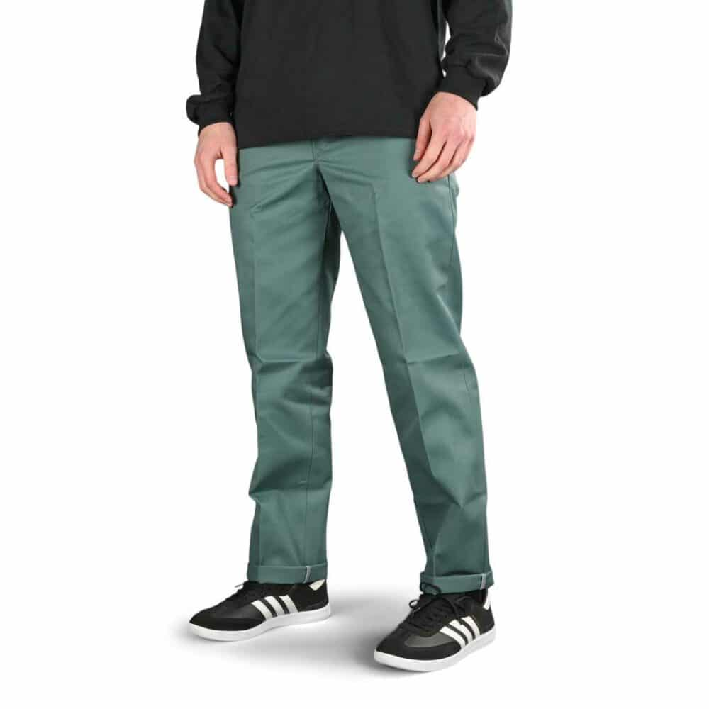 Dickies 873 Slim Straight Work Pant - Lincoln Green