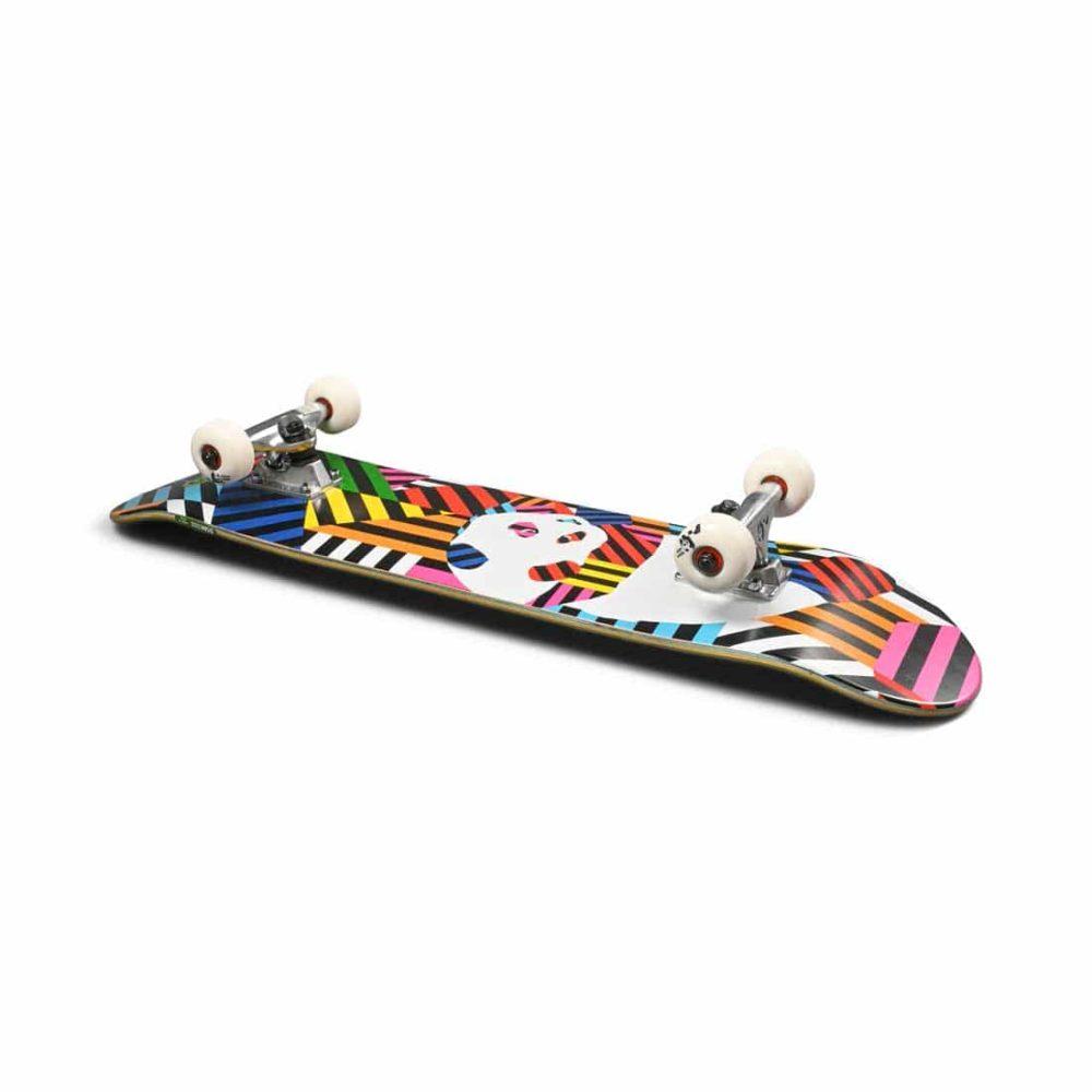 "Enjoi Panda Stripes Resin 7.75"" Complete Skateboard"