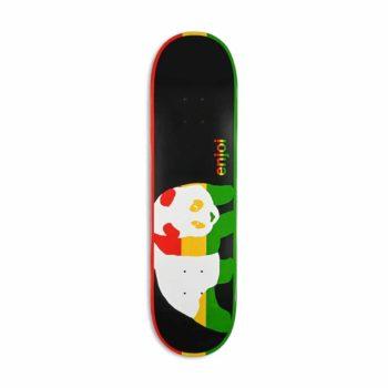 Enjoi Rasta Veneer Skateboard Deck