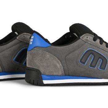 Etnies Lo-Cut II LS Skate Shoes - Grey / Black / Royal