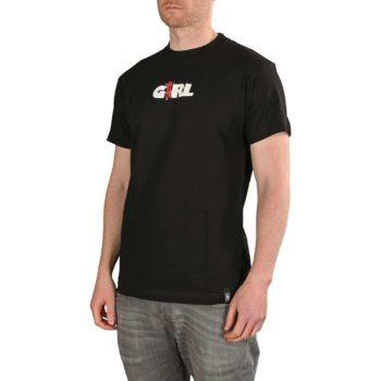 Girl Skateboards Marionette S/S T-Shirt - Black