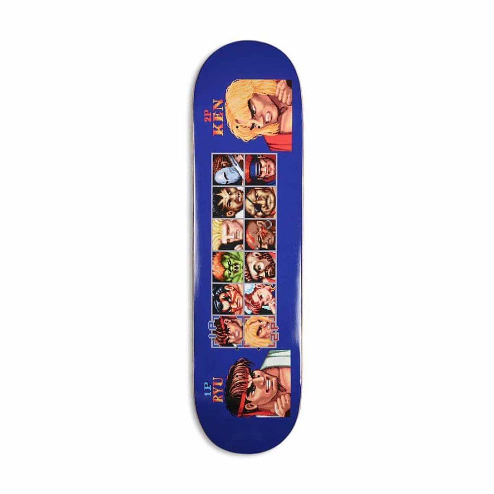 "HUF x Street Fighter Players Select 8.25"" Skateboard Deck"