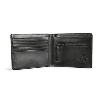 Independent Bar/Cross Wallet - Black Emboss