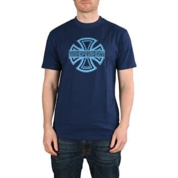 Independent Convex S/S T-Shirt - Dark Navy