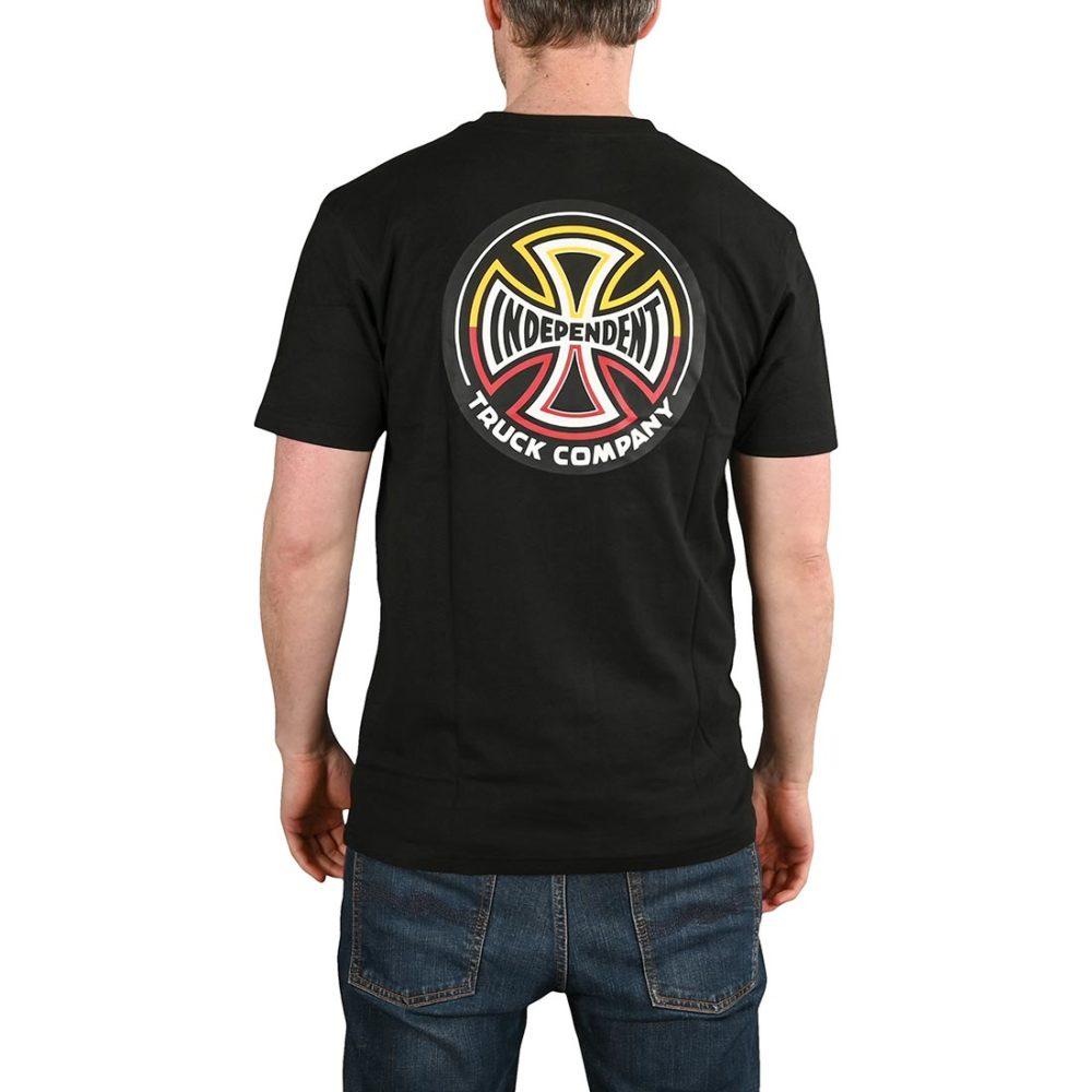 Independent Split Cross S/S T-Shirt - Black