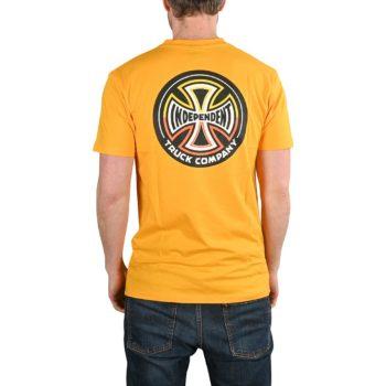 Independent Split Cross S/S T-Shirt - Gold