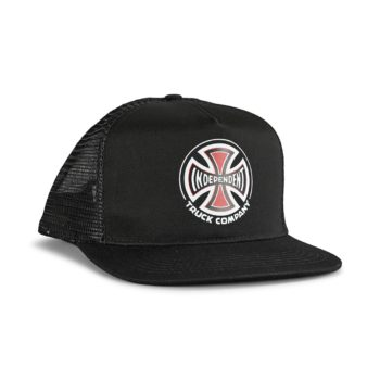 Independent Truck Co Mesh Back Cap - Black / Black