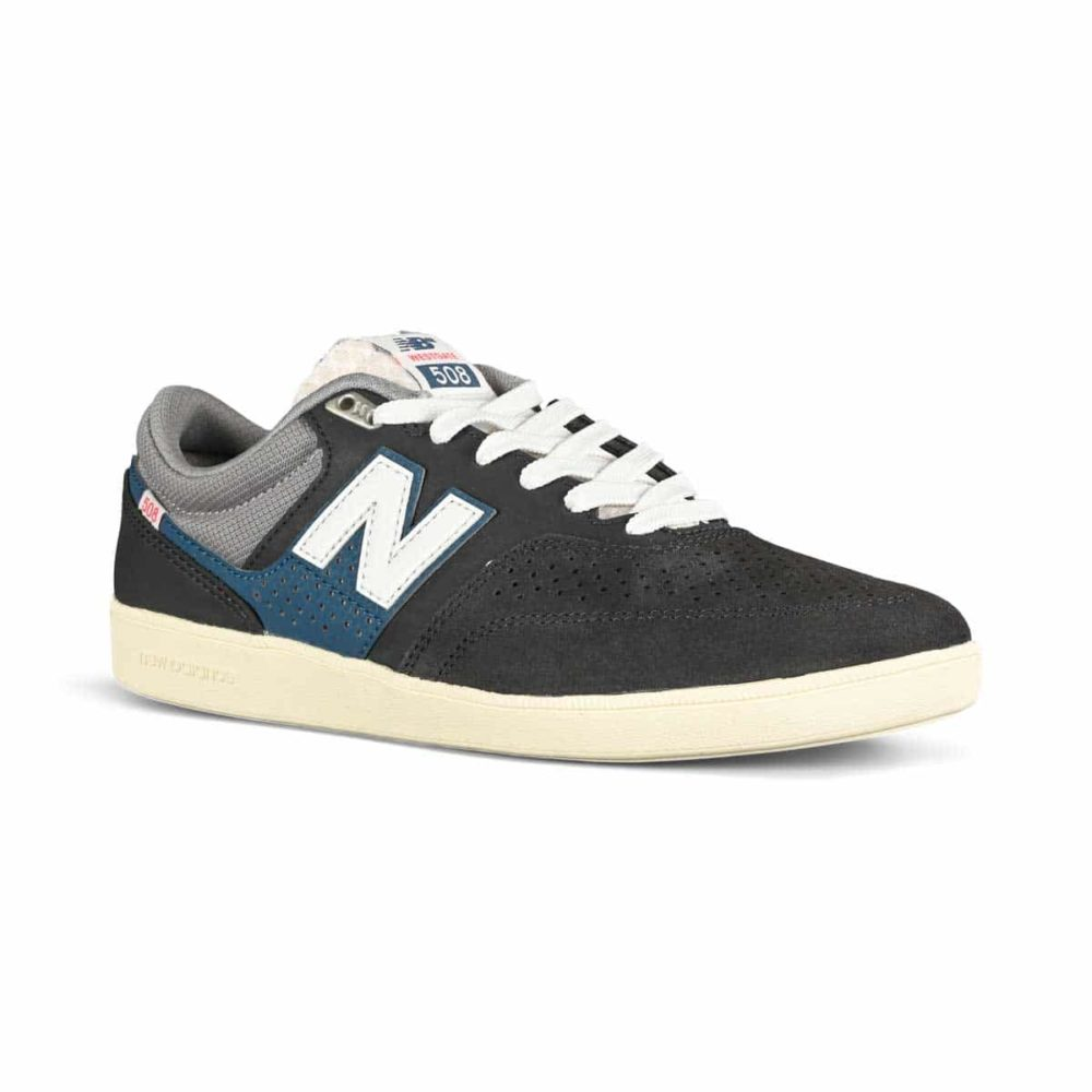 New Balance Numeric 508 Westgate Skate Shoes - Dark Grey / Blue