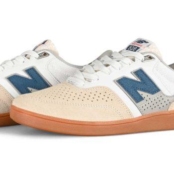 New Balance Numeric 508 Westgate Skate Shoes - White / Blue