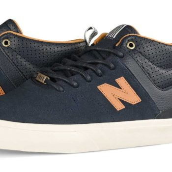 New Balance Numeric x Sour 379 Mid Skate Shoes - Navy / Brown