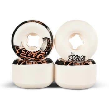 OJ Elite Mini Combo 101a 54mm Skateboard Wheels - White