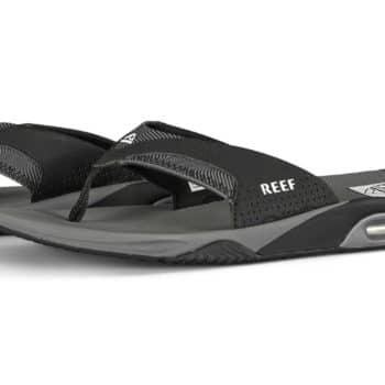 Reef Fanning Prints Mens Sandals - Grey Swells