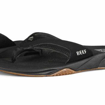 Reef Fanning Sandals - Black / Silver
