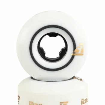 Ricta Speed Rings Slim 99a 52mm Skateboard Wheels - White