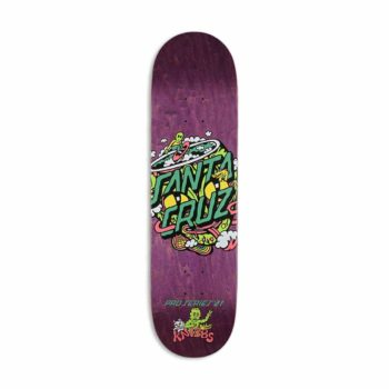 "Santa Cruz Jereme Knibbs Reptillian Dot 8.27"" Skateboard Deck"