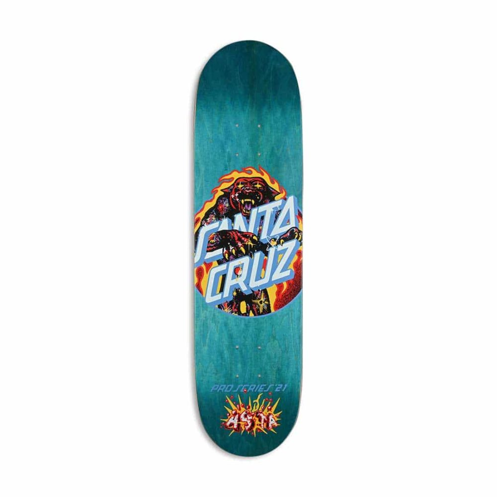 "Santa Cruz Tom Asta Cosmic Cat Dot 8"" Skateboard Deck"