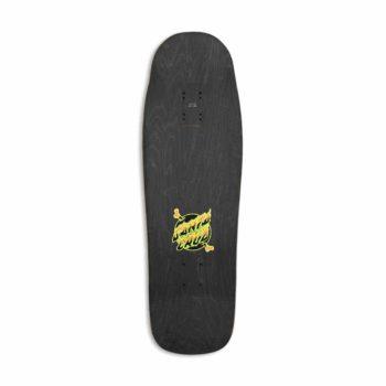 "Santa Cruz Winkowski Volcano Shaped 10"" Skateboard Deck - Green"