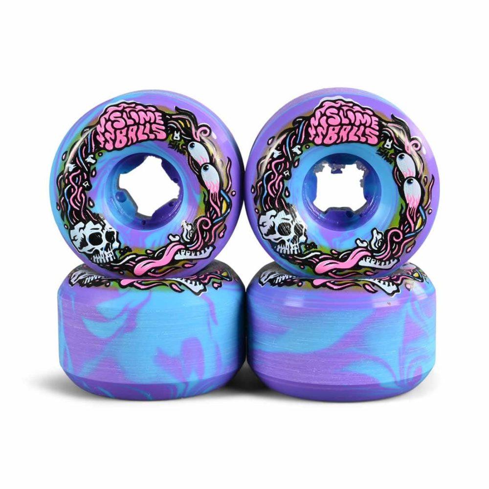 Slime Balls Brains Speed Balls Swirl 99a 54mm Skateboard Wheels
