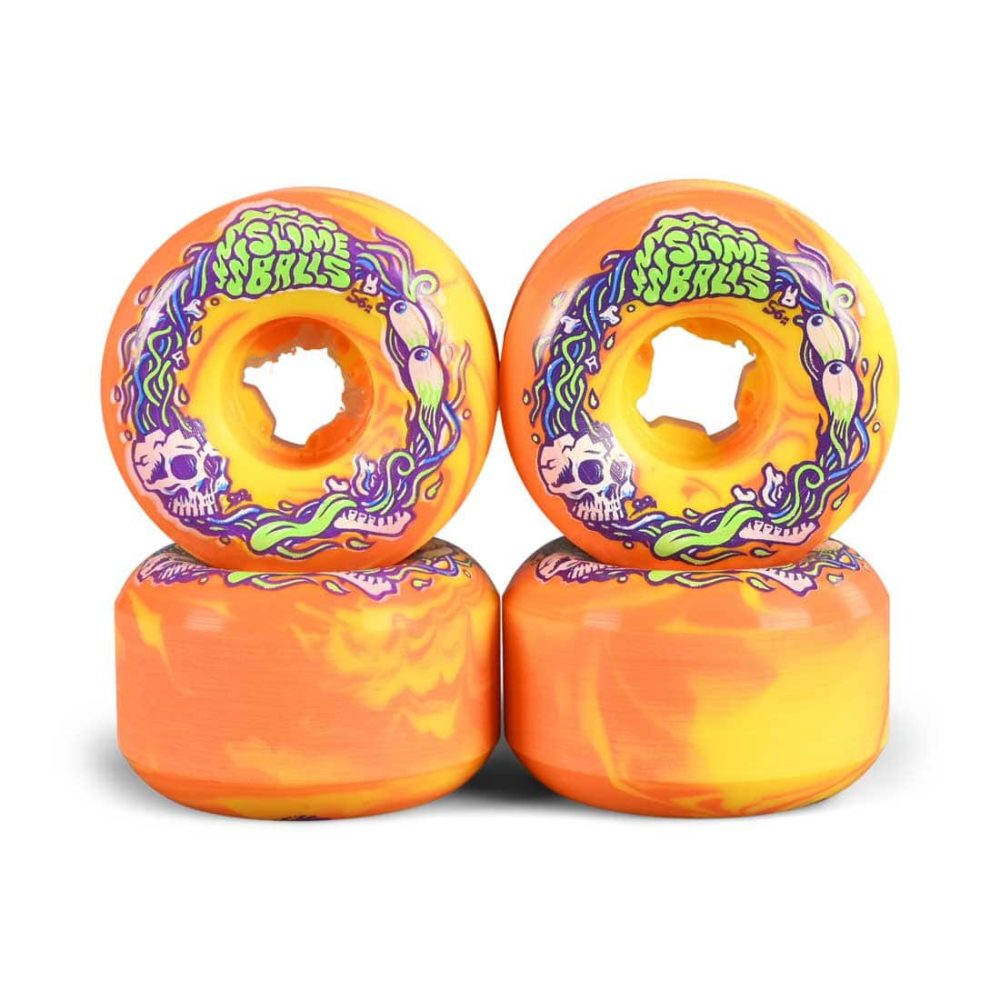 Slime Balls Brains Speed Balls Swirl 99a 56mm Skateboard Wheels