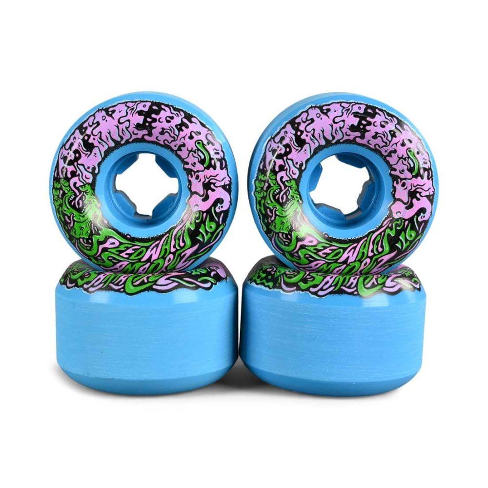 Slime Balls Vomit Mini II 97a 53mm Skateboard Wheels - Blue