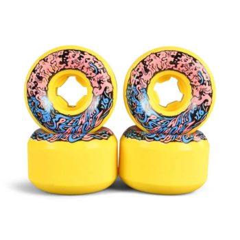 Slime Balls Vomit Mini II 97a 54mm Skateboard Wheels - Yellow