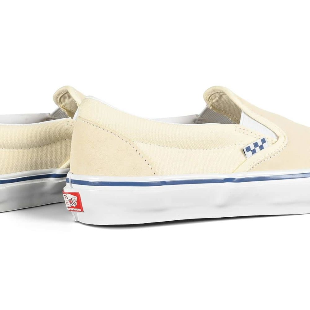 Vans Slip-On Pro Skate Shoes - Off White