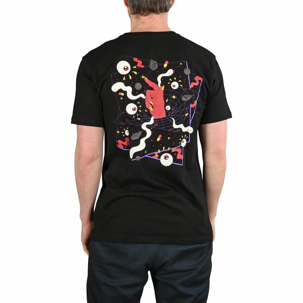 Volcom Freak City FA S/S T-Shirt - Black
