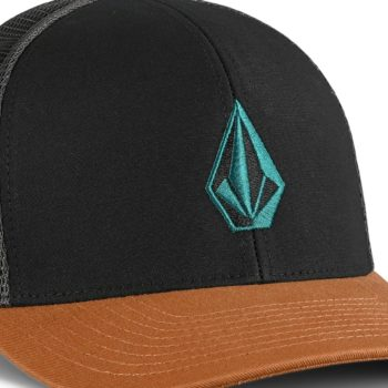 Volcom Full Stone Cheese 110 Mesh Back Cap - Golden Brown