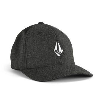 Volcom Full Stone Heather XFit Cap - Charcoal Heather