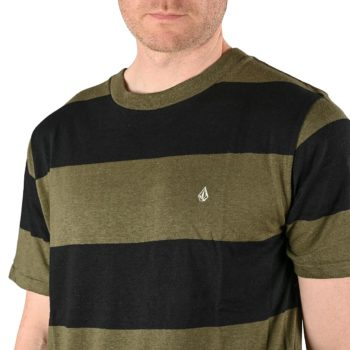 Volcom Handsworth Crew S/S T-Shirt - Military