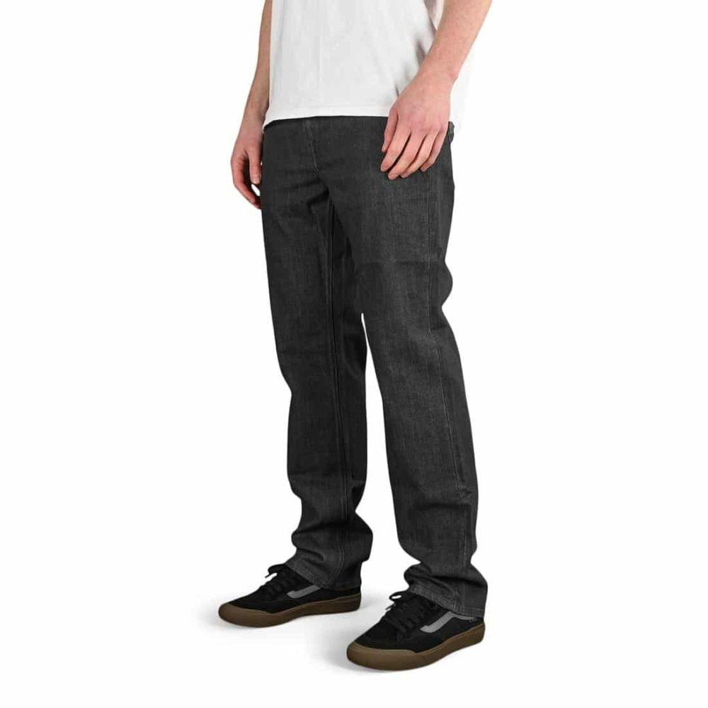 Volcom Solver Denim Jeans - Dark Grey