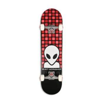 """Alien Workshop Matrix 7.5"""" Skateboard Complete - Black"""