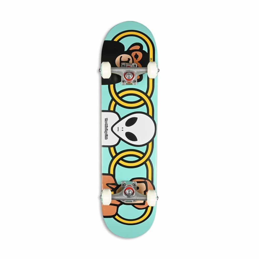 """Alien Workshop Missing Link 7.75"""" Skateboard Complete - Blue"""