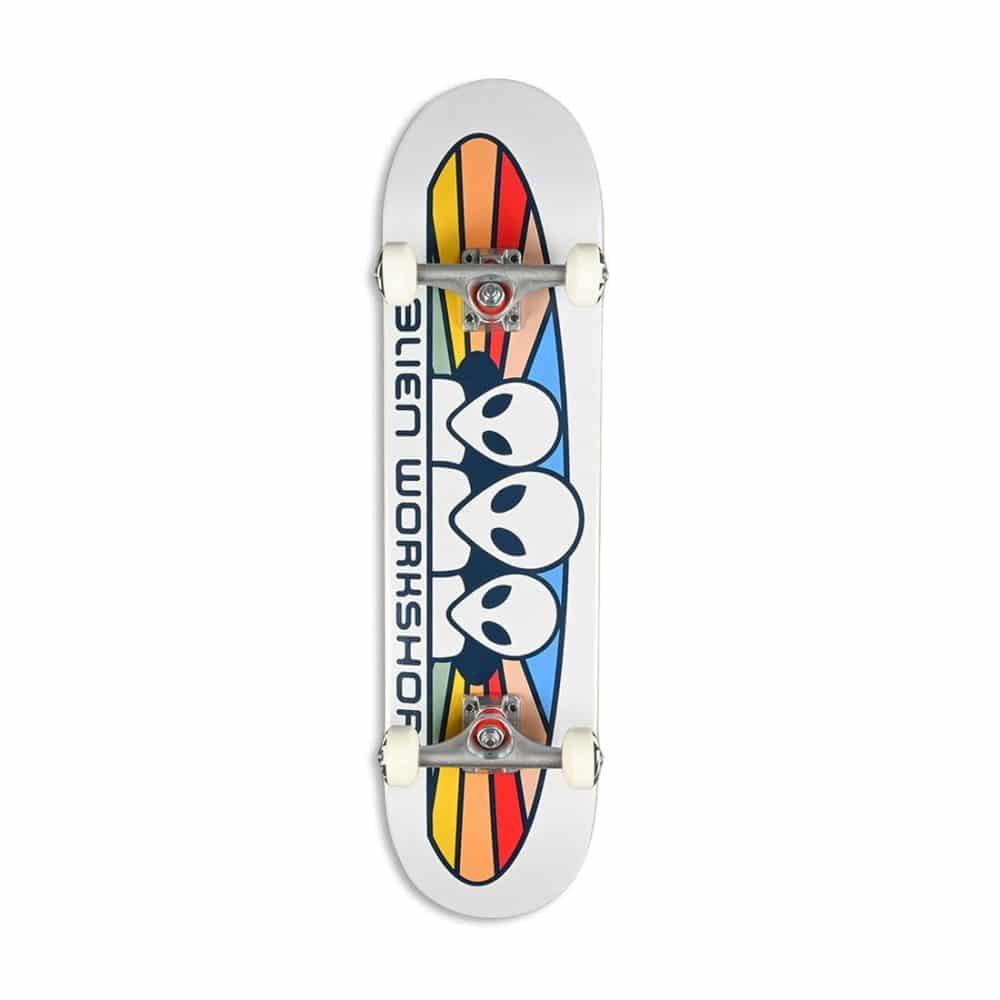 Alien Workshop Spectrum Skateboard Complete - White